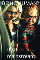 Chucky and Tiffany Hipster meme by TiffxChuckyluv