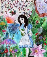Alice in Wonderland by 4DarKop5