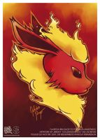 Flareon by goldhedgehog