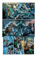 Aquaman sample page two by xXNightblade08Xx