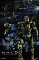 Halo Series Fan Art Panels (pt5) Halo Legends by rs2studios