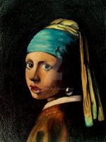 Girl With a Pearl Earring 3 by MaryCloe