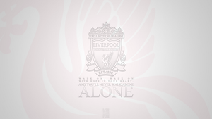 Liverpool FC Wallpaper (White Version) by KGulbahar