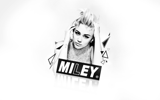 Miley Cyrus wallpaper 2. by NewX4