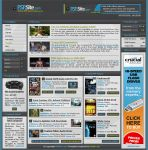 PSP Site Homepage by edskii