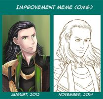 Improvement Meme by StudioKawaii