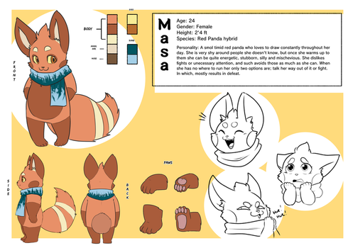 New Reference for Masa! by MasaBear