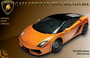Lamborghini Gallardo LP 550-2 by BlurVioletOmega