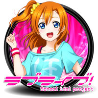 Love Live School Idol Project Circle Icon by Knive by knives1024