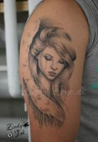Angel Tattoo by Zindy