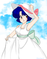 Akane Tendo - summer ova dress by AngieSan