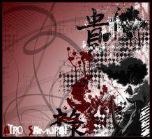 Afro Samurai by Lazy-SamuraiShinobi