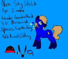 Sky Sketch ref sheet by angelcosmo