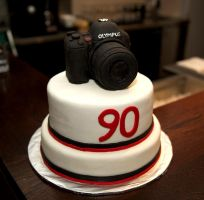 Camera-cake by bahgee