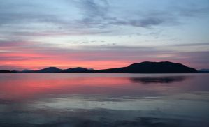 Moosehead Lake Sunrise 2 by RachelDS