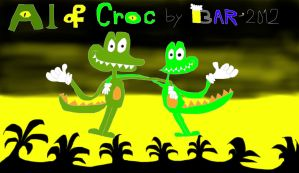 Al and Croc by BARproductions