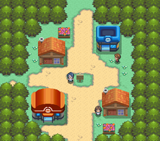 Oldale town remake by Pokemon-Diamond