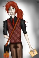 Grell student by DiabolicLily