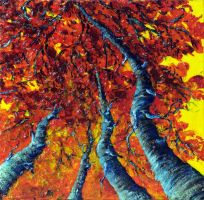 AUTUMN TREES by ARTBYTERESA