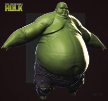 Comicon 2014 | The Incredible Hulk by DuncanFraser