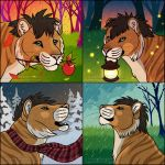$5 Seasonal Icons - Big Cats by FlannMoriath