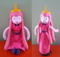 Princess Bubblegum Plush by nezcabob