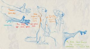 Tips for Drawing Zootopian Anthropomorphic Anatomy by MonoFlax