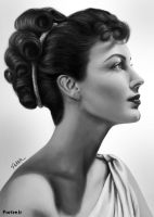 Ava Gardner 2 by STAT1C-X