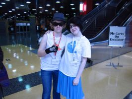 Jane Crocker and Dirk Strider- Be Cool ACen 2012 by strawberryanime101