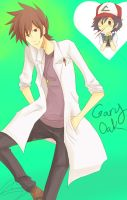 Gary Oak by kagomelovesinu