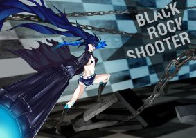 Black Rock Shooter by Akehime