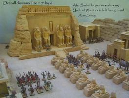 Abu Simbel 1 longer view by Beishung