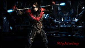 Nightwing (Damian Wayne) Wallpaper by BatmanInc
