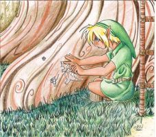 Link drawing by Wictorian-Art