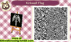 ACNL Kirkwall Flag by meglish