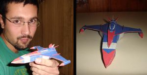 G-Force Phoenix Papercraft by ryo007