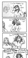 Majestic Kili - 4 panel comic by Vixenkiba