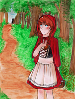 Red Riding Hood by xCastra