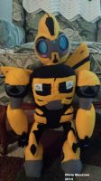Bumblebee Plush Commission by bigtimetransfan27