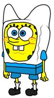 Bob Esponja Costume Finn by Moungdal