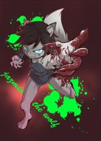RQ Answer 20:Jazmin The Wolf by KickTyan