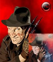 FREDDY KRUEGER, ROBERT E. SIGN by TadeoMendoza