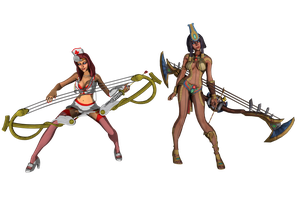 'Smite' Neith pack XPS ONLY!!! by lezisell