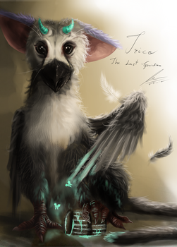 Trico - The Last Guardian (experiment fanart) by MajestyBordeaux