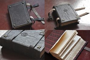 2D Dungeon Medieval Bookbinding by sahdesign