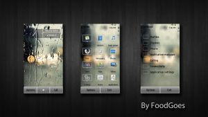 Rain For Symbian 3 by Foodgoes