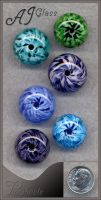 Pinwheels by AJGlass