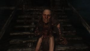 Skyrim: NPC Hag by haunted-passion