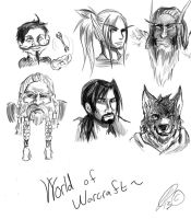 Some WoW Races by Silverlykta