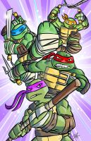 New TMNT poster by scootah91